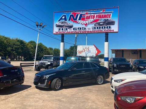 2014 Cadillac CTS for sale at ANF AUTO FINANCE in Houston TX