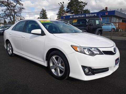 2013 Toyota Camry for sale at All American Motors in Tacoma WA