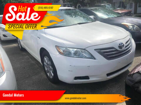 2008 Toyota Camry Hybrid for sale at Gondal Motors in West Hempstead NY