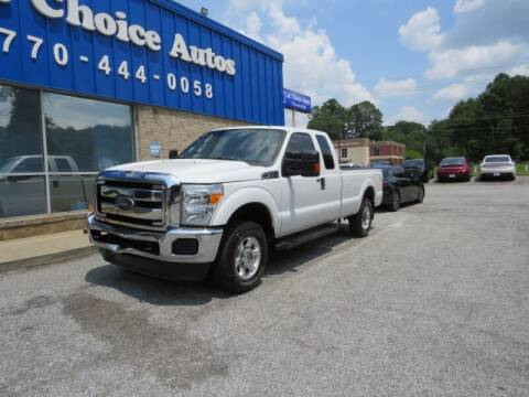2016 Ford F-250 Super Duty for sale at Southern Auto Solutions - 1st Choice Autos in Marietta GA
