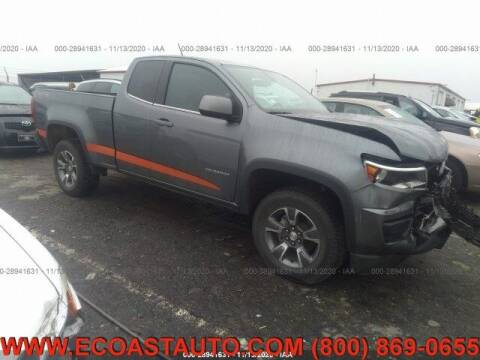2020 Chevrolet Colorado for sale at East Coast Auto Source Inc. in Bedford VA