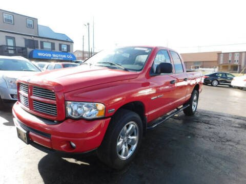 2003 Dodge Ram Pickup 1500 for sale at WOOD MOTOR COMPANY in Madison TN