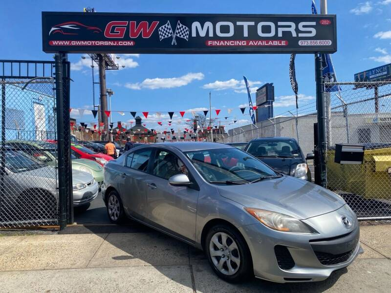 2012 Mazda MAZDA3 for sale at GW MOTORS in Newark NJ