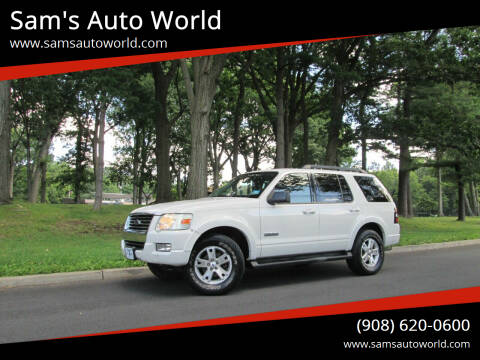 2008 Ford Explorer for sale at Sam's Auto World in Roselle NJ