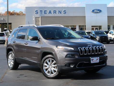 2016 Jeep Cherokee for sale at Stearns Ford in Burlington NC