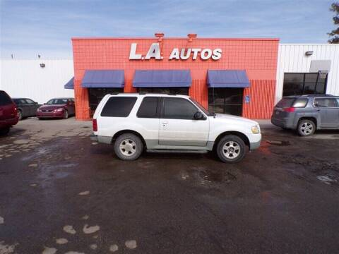 2003 Ford Explorer Sport for sale at L A AUTOS in Omaha NE