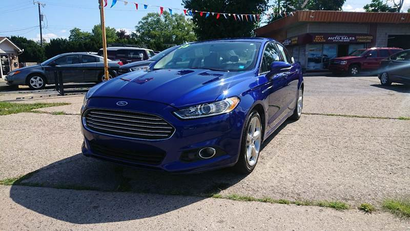 2013 Ford Fusion for sale at Lamarina Auto Sales in Dearborn Heights MI