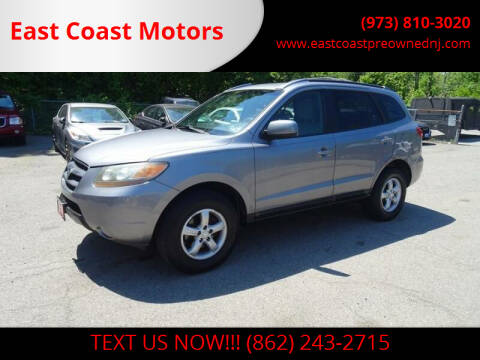 2007 Hyundai Santa Fe for sale at East Coast Motors in Lake Hopatcong NJ