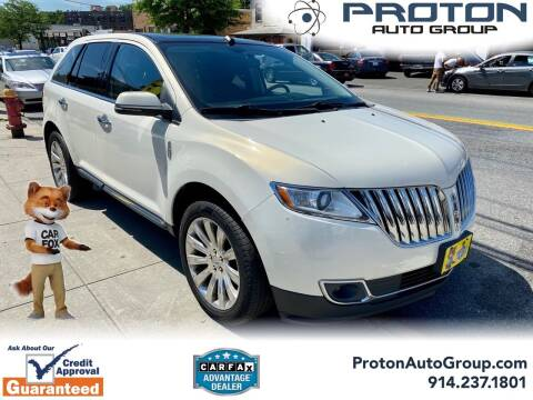 2013 Lincoln MKX for sale at Proton Auto Group in Yonkers NY