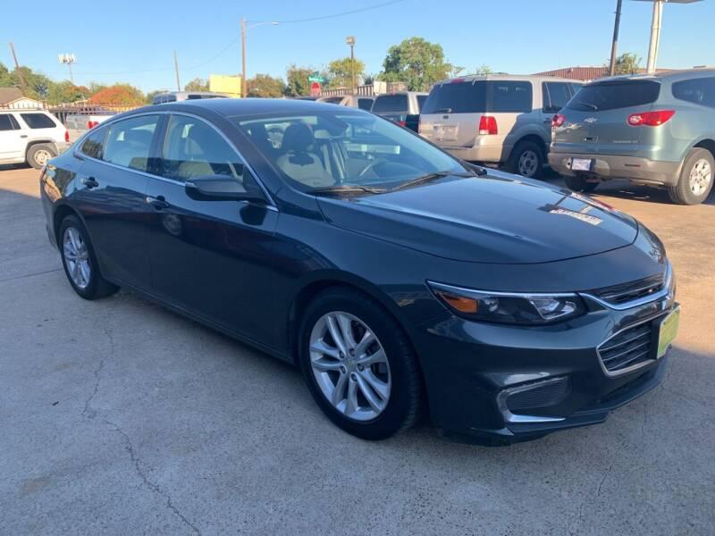 2018 Chevrolet Malibu for sale at JORGE'S MECHANIC SHOP & AUTO SALES in Houston TX