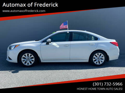 2017 Subaru Legacy for sale at Automax of Frederick in Frederick MD