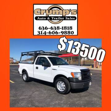 2014 Ford F-150 for sale at CRUMP'S AUTO & TRAILER SALES in Crystal City MO