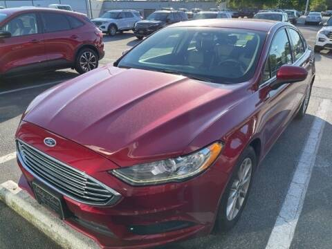 2017 Ford Fusion for sale at BILLY HOWELL FORD LINCOLN in Cumming GA