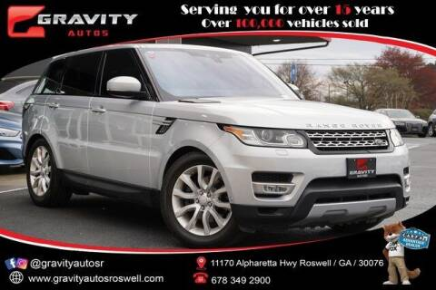 2017 Land Rover Range Rover Sport for sale at Gravity Autos Roswell in Roswell GA