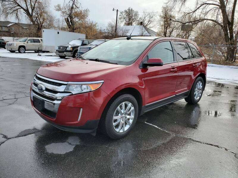 2013 Ford Edge for sale at UTAH AUTO EXCHANGE INC in Midvale UT