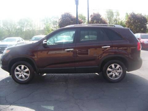 2011 Kia Sorento for sale at C and L Auto Sales Inc. in Decatur IL