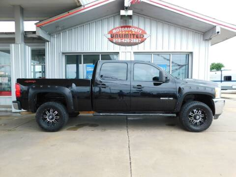 2011 Chevrolet Silverado 2500HD for sale at Motorsports Unlimited in McAlester OK