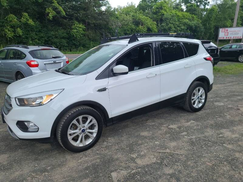 2017 Ford Escape for sale at B & B GARAGE LLC in Catskill NY