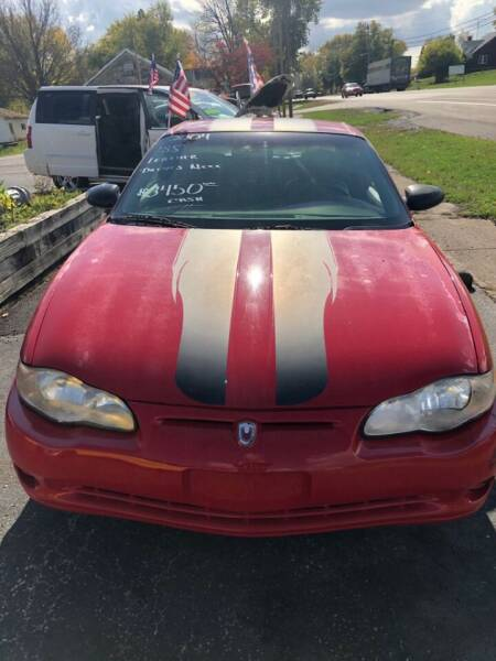 2004 Chevrolet Monte Carlo for sale at EZ Drive AutoMart in Springfield OH