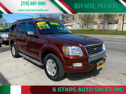 2010 Ford Explorer for sale at 6 STARS AUTO SALES INC in Chicago IL