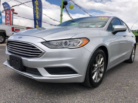 2017 Ford Fusion for sale at 1st Quality Motors LLC in Gallup NM