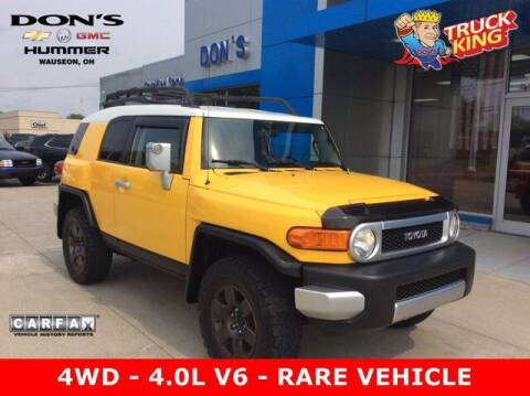 2007 Toyota FJ Cruiser for sale at DON'S CHEVY, BUICK-GMC & CADILLAC in Wauseon OH