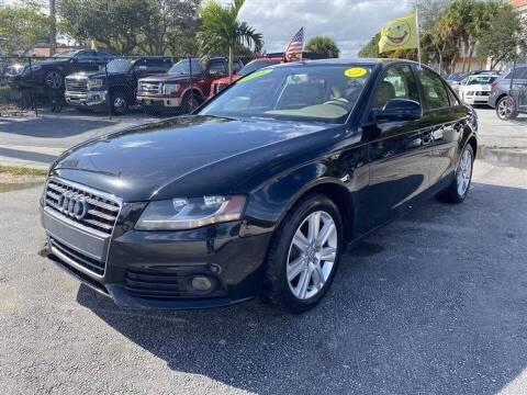 2011 Audi A4 for sale at EZ Own Car Sales of Miami in Miami FL