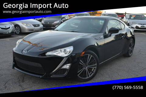 2016 Scion FR-S for sale at Georgia Import Auto in Alpharetta GA