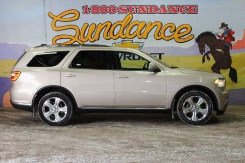 2015 Dodge Durango for sale at Sundance Chevrolet in Grand Ledge MI