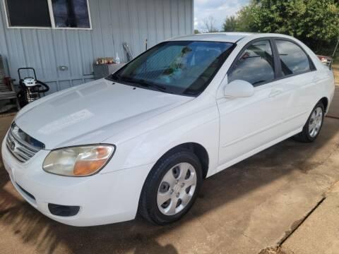 2007 Kia Spectra for sale at QUICK SALE AUTO in Mineola TX