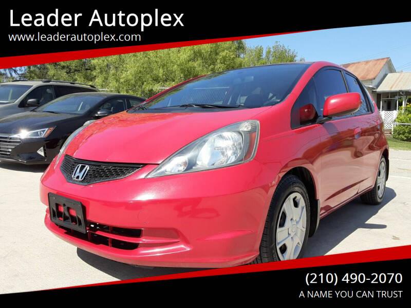2013 Honda Fit for sale at Leader Autoplex in San Antonio TX