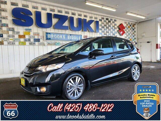 2015 Honda Fit for sale at BROOKS BIDDLE AUTOMOTIVE in Bothell WA