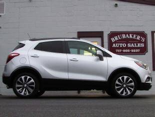 2019 Buick Encore for sale at Brubakers Auto Sales in Myerstown PA