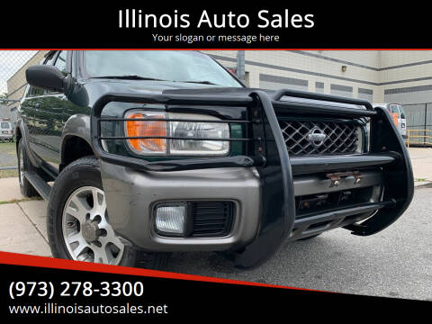 2001 Nissan Pathfinder for sale at Illinois Auto Sales in Paterson NJ