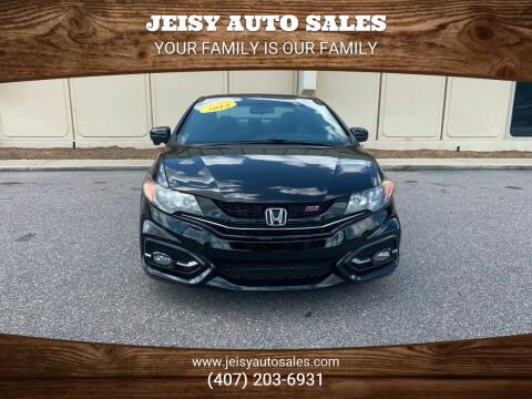 2014 Honda Civic for sale at JEISY AUTO SALES in Orlando FL