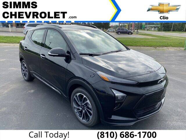 2022 Chevrolet Bolt EUV for sale at Aaron Adams @ Simms Chevrolet in Clio MI