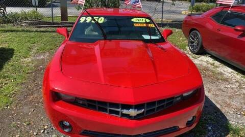 2011 Chevrolet Camaro for sale at DAN'S DEALS ON WHEELS AUTO SALES, INC. in Davie FL