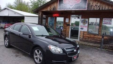 2011 Chevrolet Malibu for sale at LEE AUTO SALES in McAlester OK
