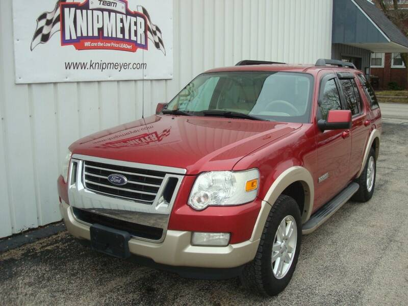 2008 Ford Explorer for sale at Team Knipmeyer in Beardstown IL