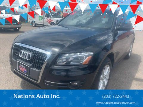 2011 Audi Q5 for sale at Nations Auto Inc. in Denver CO