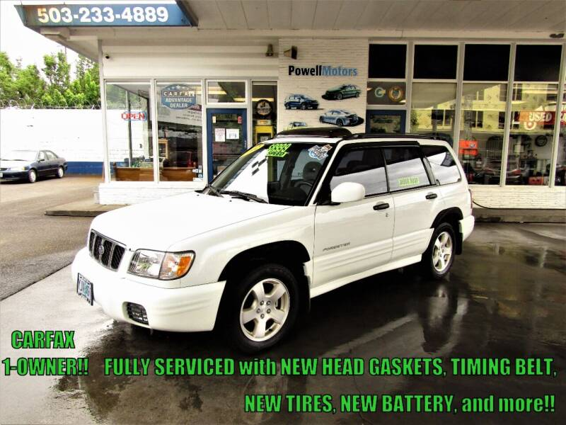 2002 Subaru Forester for sale at Powell Motors Inc in Portland OR
