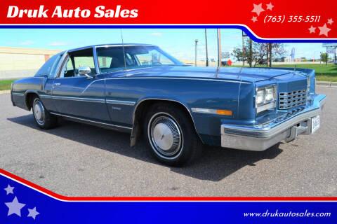 1977 Oldsmobile Toronado for sale at Druk Auto Sales in Ramsey MN