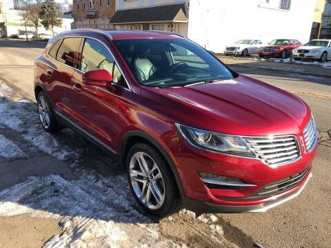 2015 Lincoln MKC for sale at STEEL TOWN PRE OWNED AUTO SALES in Weirton WV