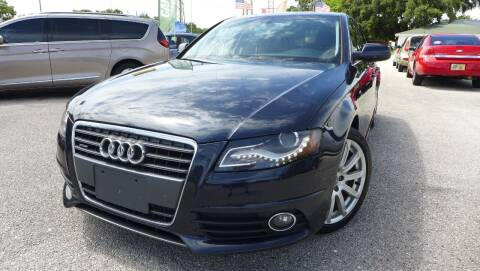 2012 Audi A4 for sale at Das Autohaus Quality Used Cars in Clearwater FL