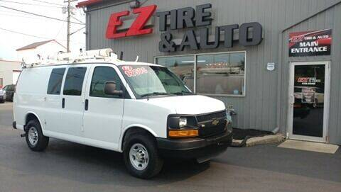 2011 Chevrolet Express Cargo for sale at EZ Tire & Auto in North Tonawanda NY