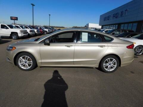 2018 Ford Fusion for sale at West Point Auto & Truck Center Inc. in West Point NE