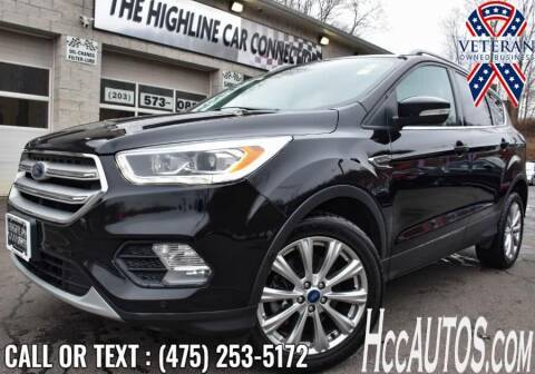 2018 Ford Escape for sale at The Highline Car Connection in Waterbury CT