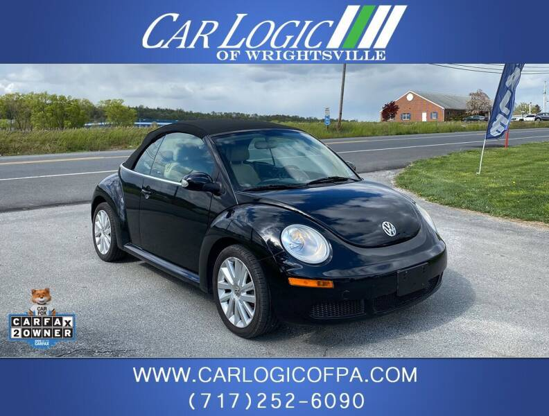 2008 Volkswagen New Beetle Convertible for sale at Car Logic in Wrightsville PA