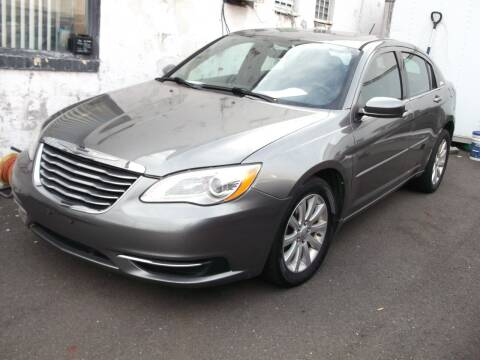 2013 Chrysler 200 for sale at Topchev Auto Sales in Elizabeth NJ