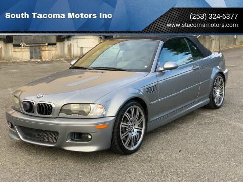 2004 BMW M3 for sale at South Tacoma Motors Inc in Tacoma WA